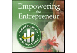 Empowering the Entrepeneur Small Business Reference Center woman and plant