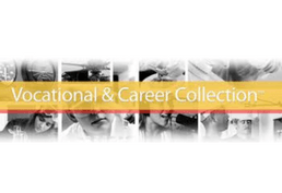 Vocational and Career Collection faces on four panels