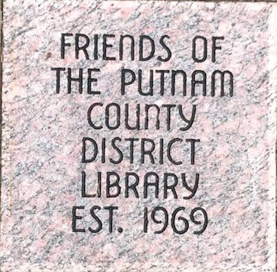 Friends of the Putnam County District Library Est. 1969 paver