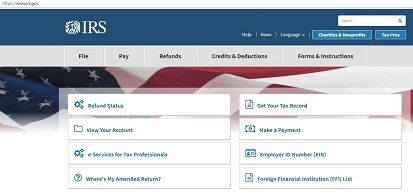 flag irs file pay refunds credits and deductions forms and instructions