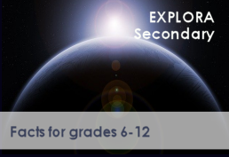 Explora Secondary Facts for grades 6-12