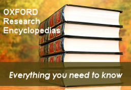 Oxford Research Encyclopedias everything you need to know