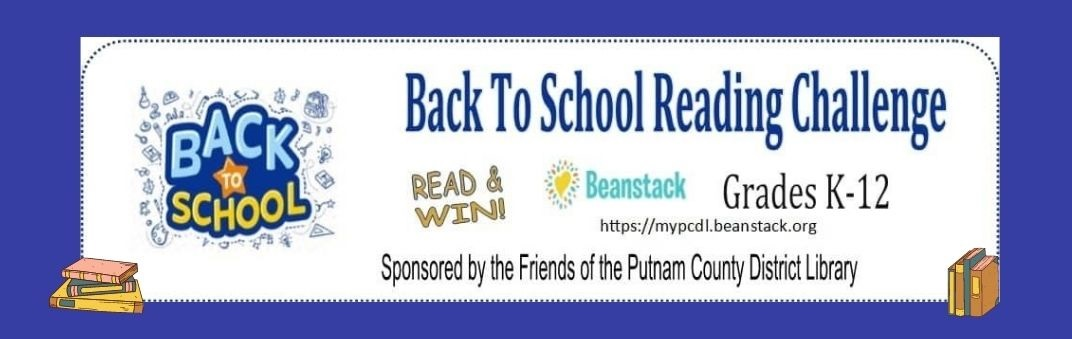 back to school reading challenge with books